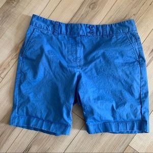 Vineyard Vines blue cotton stretch shorts 8